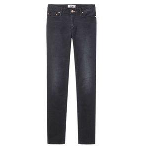 NWOT Acne Jeans skinny Black Basement Mid rise